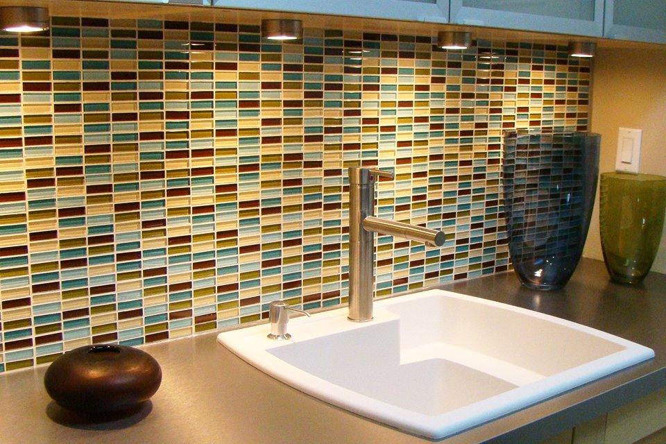 Make A Splash With Glass Eldredge Lumber