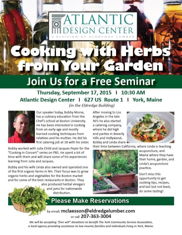 Herbs Seminar